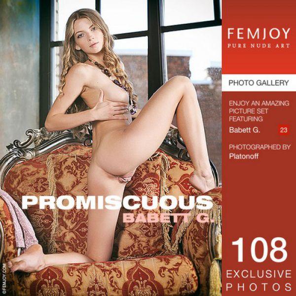 Femjoy: Babett G – Promiscuous