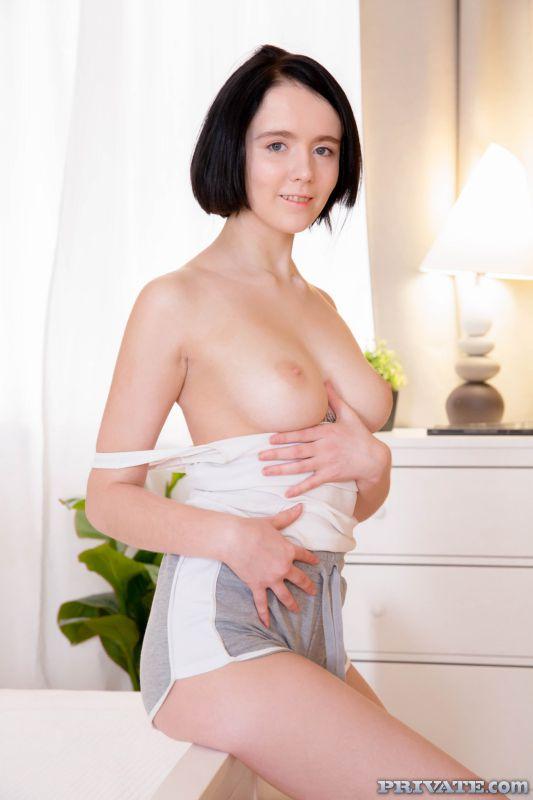 Candy Cru - Perfect Tits Teen Takes a Creampie | 67x | 1600px | Jun 03, 2019