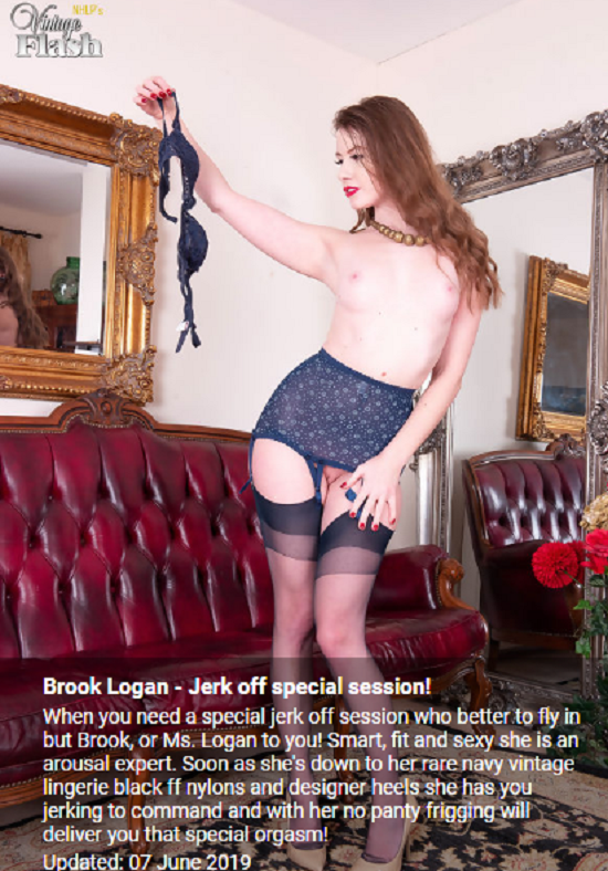 Brook Logan - Jerk Off Special Session   (07-06-2019)