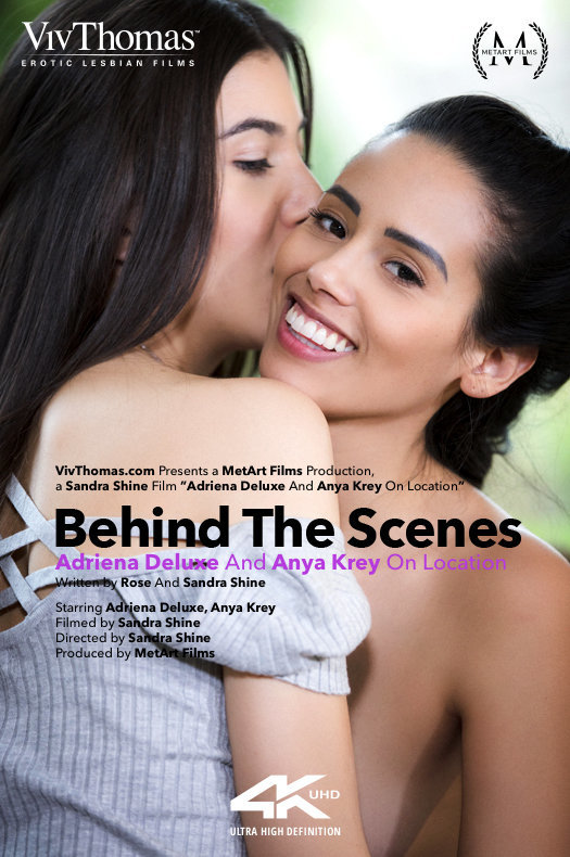Andreina Deluxe & Anya Krey On Location 2019-07-20