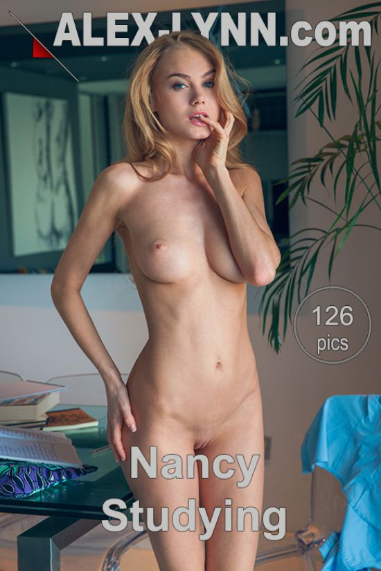 Nancy -   Studying (x126)