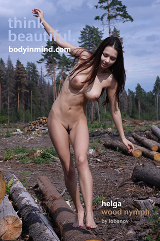 Helga - Wood Nymph - 5616px - 137 pictures