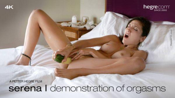 Serena L - Demonstration of Orgasms (2019-08-06)