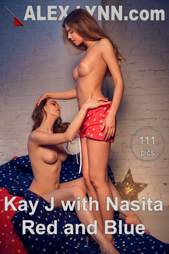 Kay J & Nasita - Red and blue