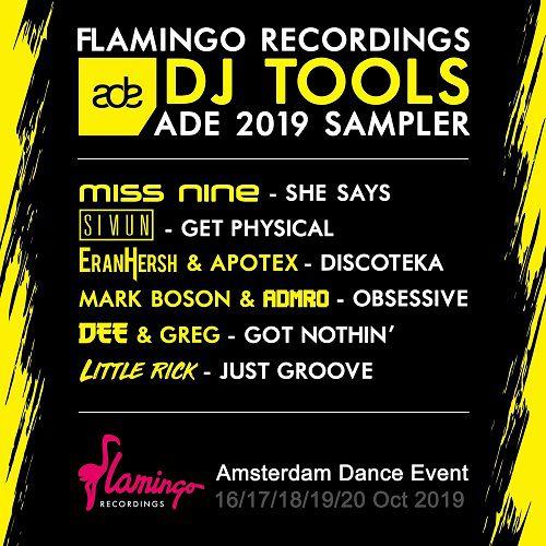 Dee & Greg  - Got Nothin'; Eran Hersh, Apotex - Discoteka; Little Rick - Just Groove; Mark Boson & Admro - Obsessive; Miss Nine - She Says; Simun - Get Physical (Extended Mix's) [2019]