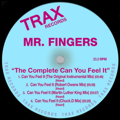 Mr. Fingers ‎– The Complete Can You Feel It [2002]