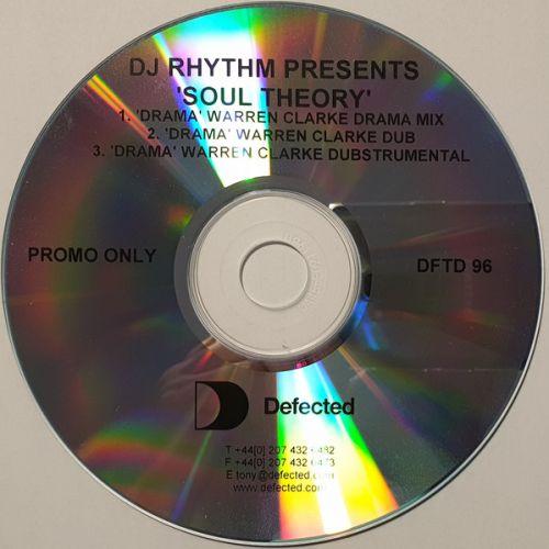 DJ Rhythm Presents Soul Theory – Drama (UK CDr, Promo) [2004]