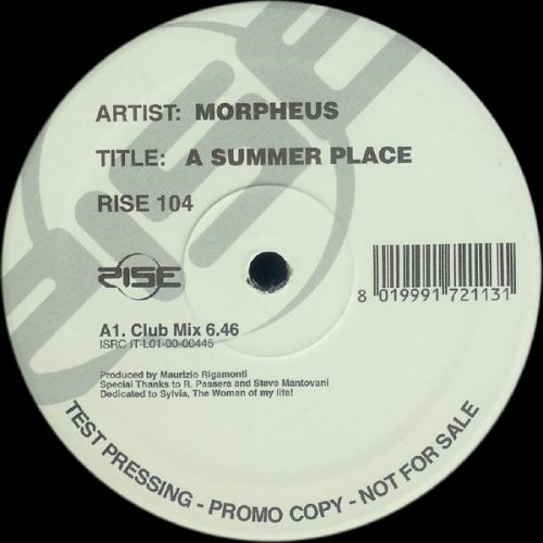 Morpheus – A Summer Place (Italy WEB) [2000]